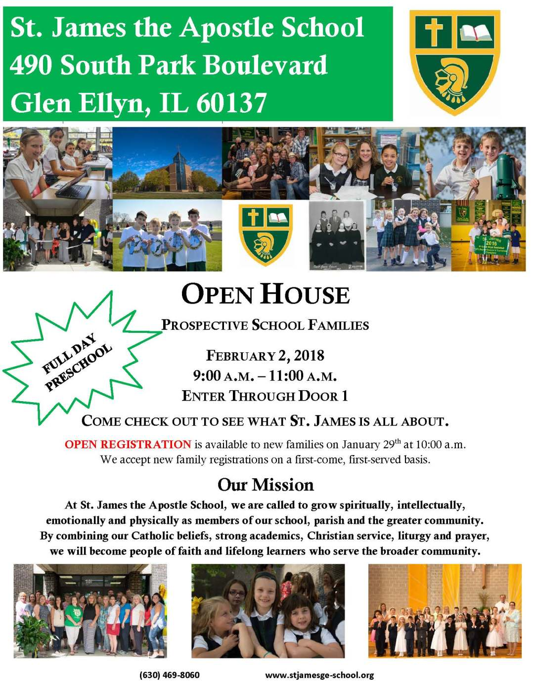 Open House 2018 - UPDATED 1-16-18