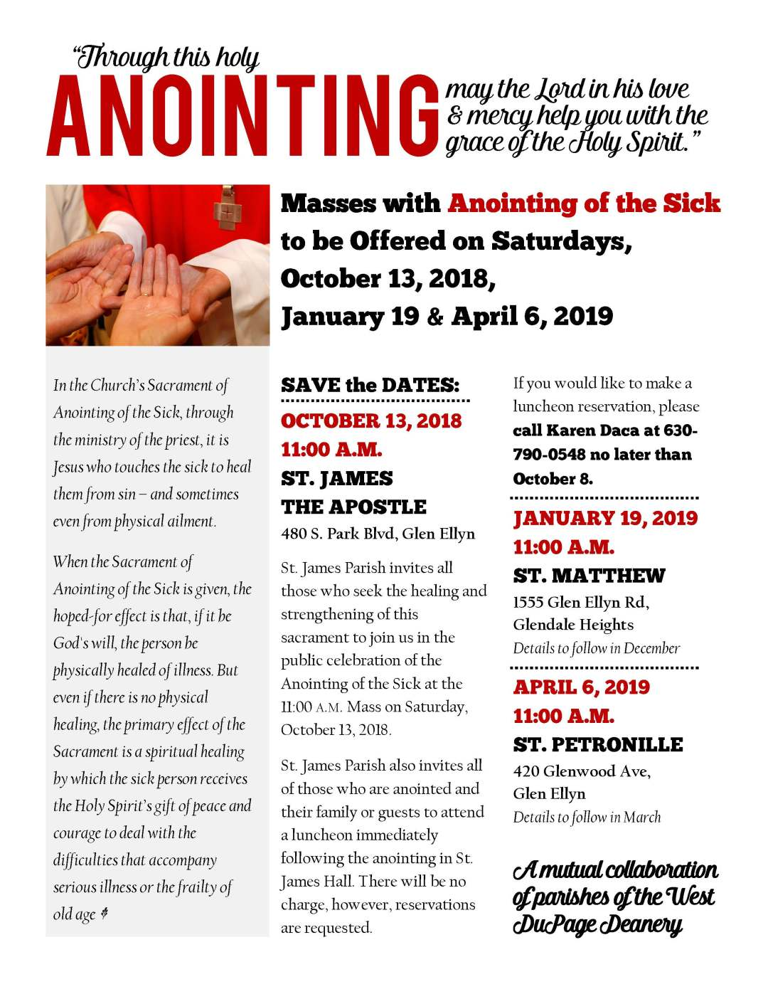West DuPage Deanery.Anointing Flyer 2018.2019