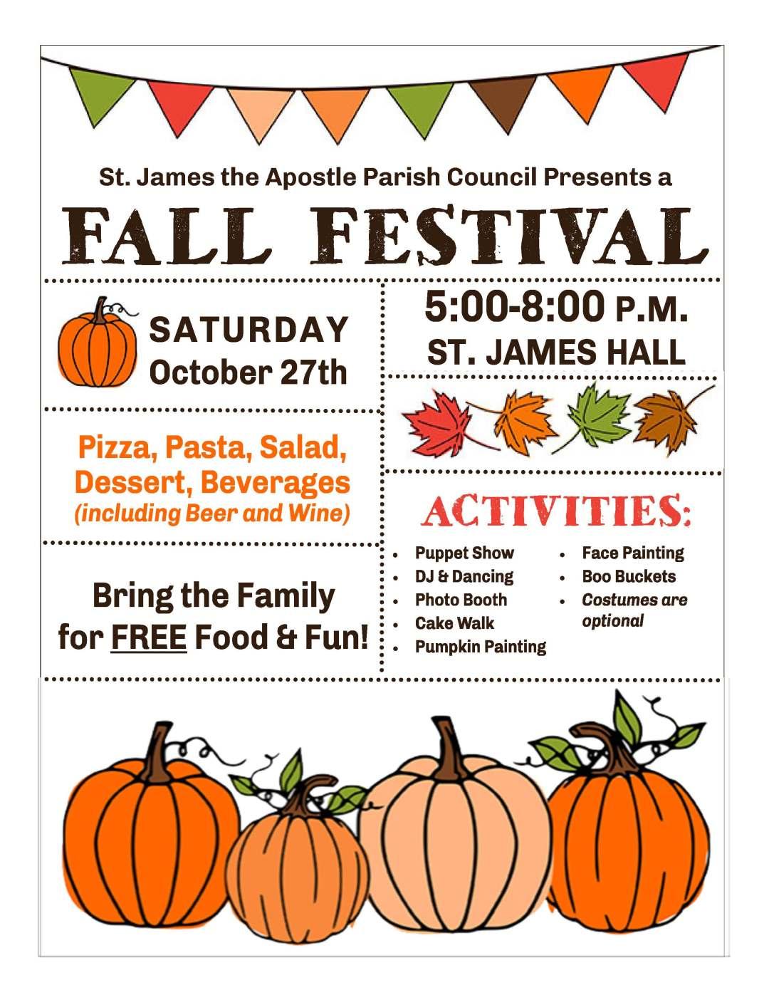 Fall Festival Detailed Flyer