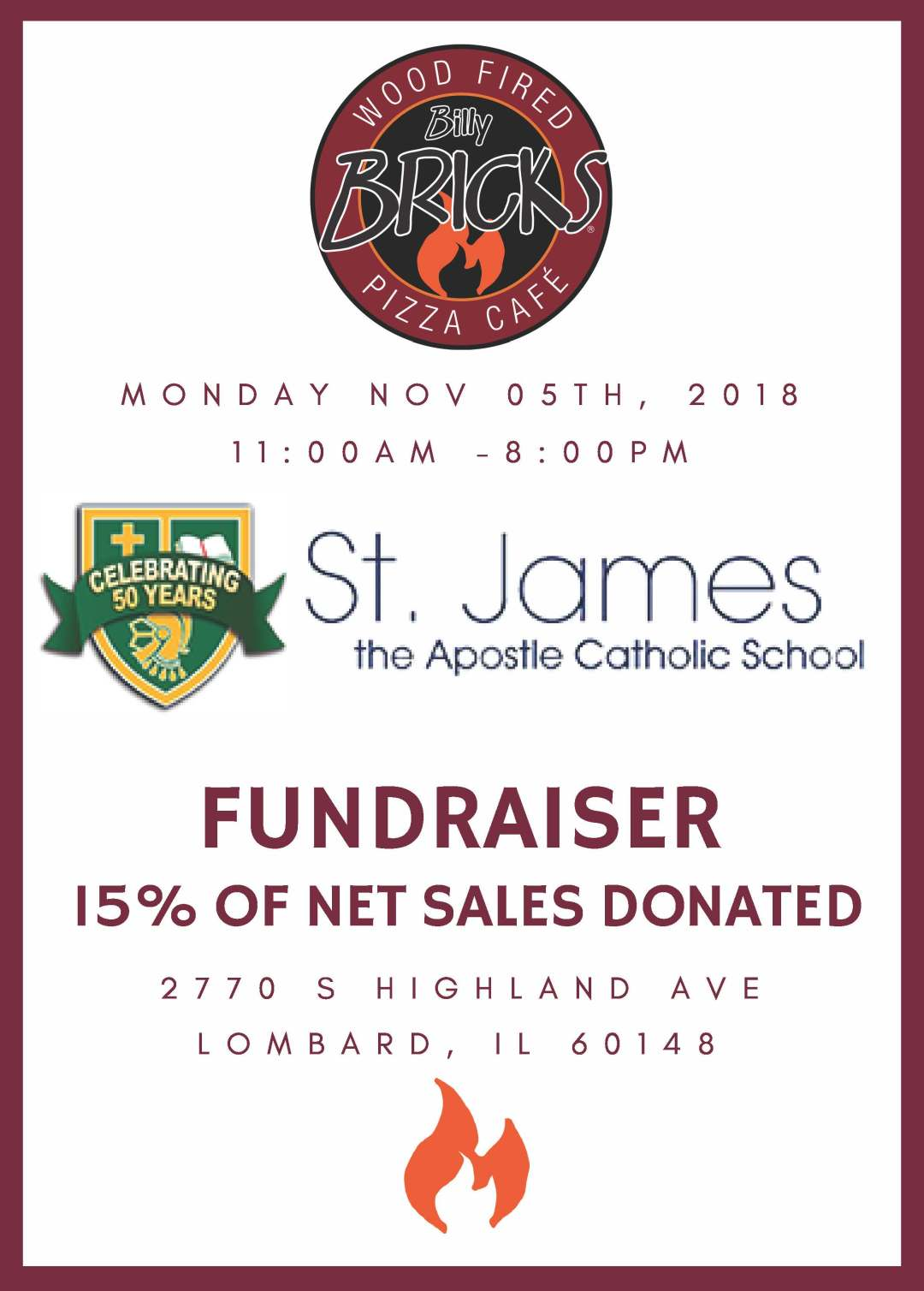 St James Fundraiser 2018